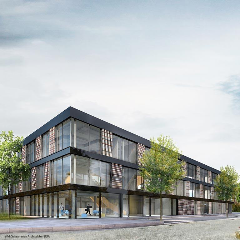 Neubau Stadtwerke Büro